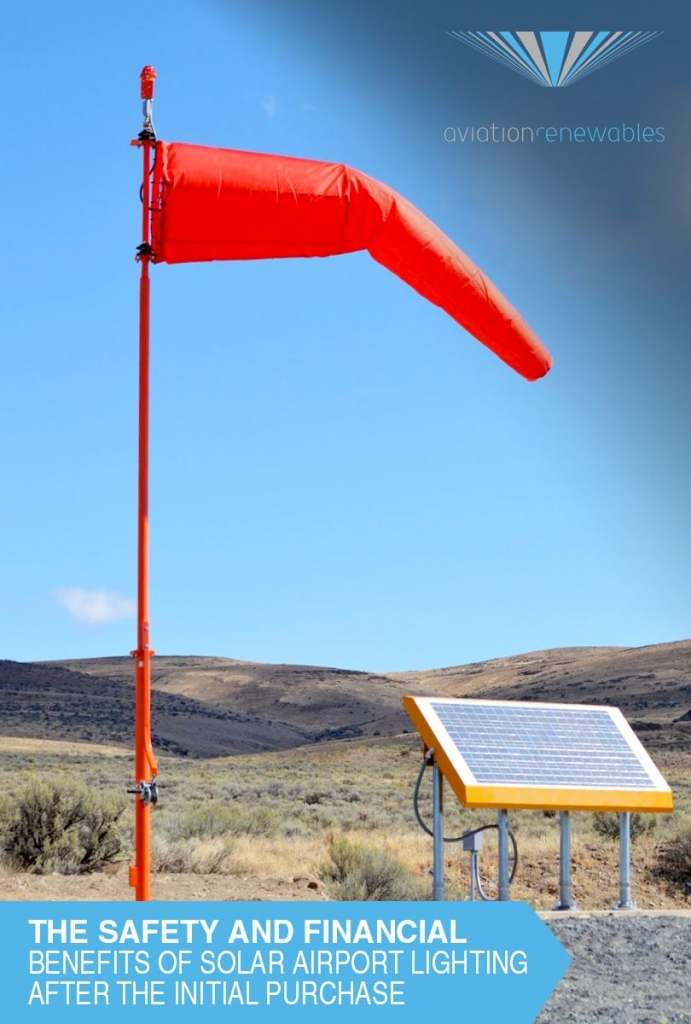 Solar Airport Lighting Benefits: The safety and financial benefits after the initial purchase